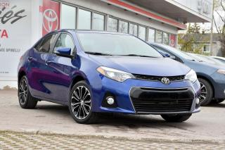 Used 2016 Toyota Corolla SPORT UPGRADE MAGS, TOIT, BAS KM for sale in Pointe-Claire, QC