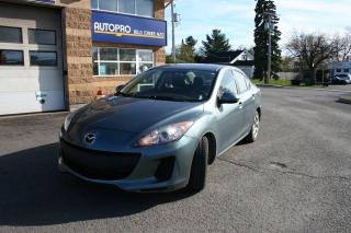 Used 2013 Mazda MAZDA3 GX for sale in Nepean, ON