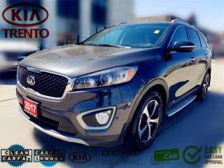 Used 2017 Kia Sorento AWD EX+ V6 7-Seater|Panoroof|Leather|BSD|Low KM| for sale in North York, ON