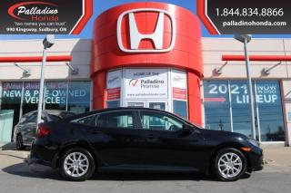 Used 2017 Honda Civic Sedan LX - NEW FRONT AND REAR BRAKES - for sale in Sudbury, ON