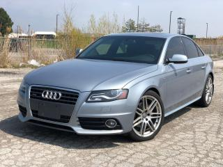 Used 2012 Audi A4 2.0T PREMIUM|Manual|Clean Carfax|Sold as-is| for sale in Bolton, ON