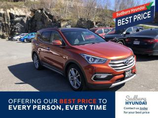 Used 2017 Hyundai Santa Fe Sport 2.0T Ultimate for sale in Sudbury, ON