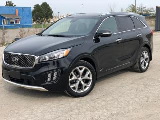 Used 2017 Kia Sorento SX V6 AWD|Navi|Pano roof|7 passenger| for sale in Bolton, ON