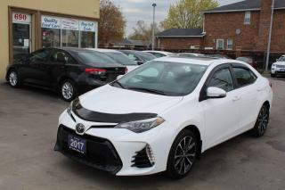 Used 2017 Toyota Corolla SE Leather Sunroof for sale in Brampton, ON