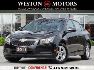 Used 2011 Chevrolet Cruze LT TURBO*GREAT SHAPE*LOW KMS! for sale in Toronto, ON