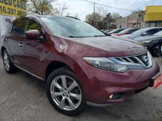 Used 2012 Nissan Murano PLATINUM/NAVI/AWD/CAMERA/P.ROOF/P.SEAT/FOGS for sale in Scarborough, ON