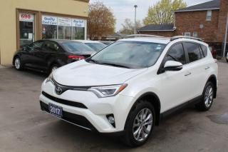 Used 2017 Toyota RAV4 LIMITED  for sale in Brampton, ON