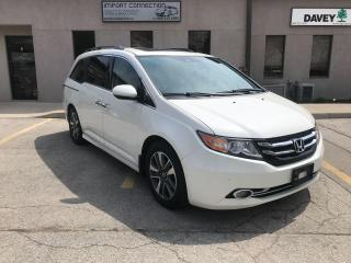 Used 2015 Honda Odyssey Touring w/RES & Navi,DVD,8PASS,NO ACCIDENTS!! for sale in Burlington, ON