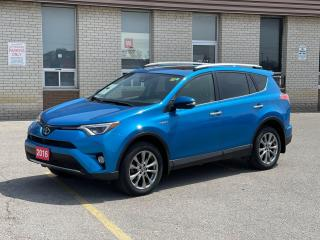 Used 2016 Toyota RAV4 HYBRID LIMITED NAVIGATION/REAR VIEW CAMERA for sale in North York, ON