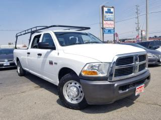 Used 2010 Dodge Ram 2500 No Accidents|RWD|8.5 box|ST|HEMI|Lift|Certified for sale in Brampton, ON