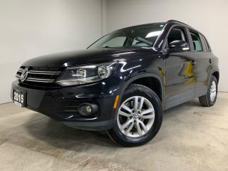 Used 2015 Volkswagen Tiguan COMFORTLINE for sale in Owen Sound, ON
