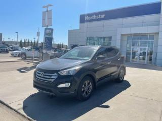 Used 2013 Hyundai Santa Fe PREMIUM/AWD/HEATEDSTEERINGANDSEATS/POWERSEAT/DUALCLIMATE for sale in Edmonton, AB