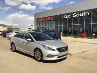 Used 2016 Hyundai Sonata 2.4L , SPORT TECH, LEATHER, SUNROOF for sale in Edmonton, AB