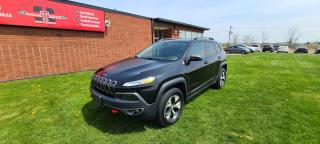 Used 2015 Jeep Cherokee Trailhawk for sale in London, ON