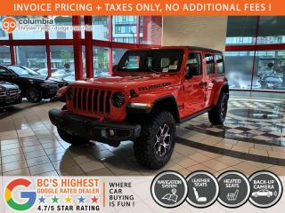 New 2021 Jeep Wrangler Unlimited Rubicon for sale in Richmond, BC