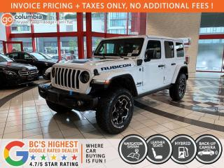 New 2021 Jeep Wrangler Unlimited Rubicon 4xe for sale in Richmond, BC