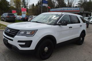 Used 2016 Ford Explorer Police Interceptor Utility for sale in Richmond Hill, ON