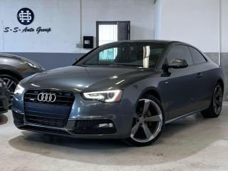 Used 2014 Audi A5 S-LINE|NAV|PARKTRONIC|DRIVE SELECT|BLACK OPTICS| for sale in Oakville, ON