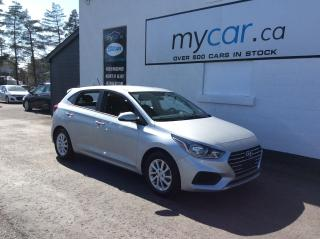 Used 2020 Hyundai Accent Preferred ALLOYS, HEATED SEATS, BACKUP CAM, APPLE CAR PLAY!! for sale in North Bay, ON