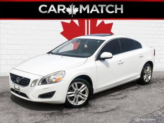 Used 2012 Volvo S60 T6 / NO ACCIDENTS / ONLY 99971 KM for sale in Cambridge, ON