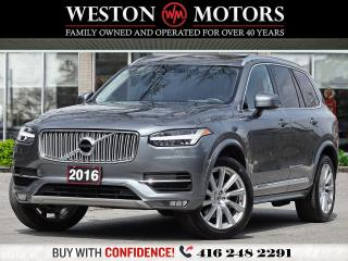 Used 2016 Volvo XC90 T6 INSCRIPTION*TOP OF THE LINE*GREAT SHAPE! for sale in Toronto, ON