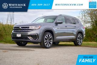 New 2021 Volkswagen Atlas 3.6 FSI Execline *DIGITAL DASH* *LANE ASSIST* *ADAPTIVE CRUISE* *LEATHER* *SUNROOF* for sale in Surrey, BC
