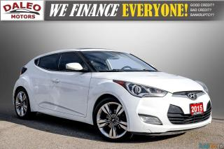 Used 2015 Hyundai Veloster TECH / BACK UP CAM / HEATED SEATS / NAV for sale in Hamilton, ON