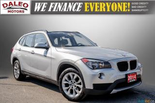 Used 2014 BMW X1 xDRIVE28i / HEATED SEATS / KEYLESS START / LOW KMS for sale in Hamilton, ON