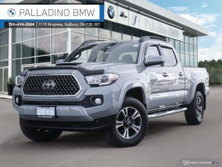 Used 2019 Toyota Tacoma SR5 V6 SR5 - SATELLITE RADIO, TOYOTA SAFETY SENSE, CLEAN CARFAX for sale in Sudbury, ON