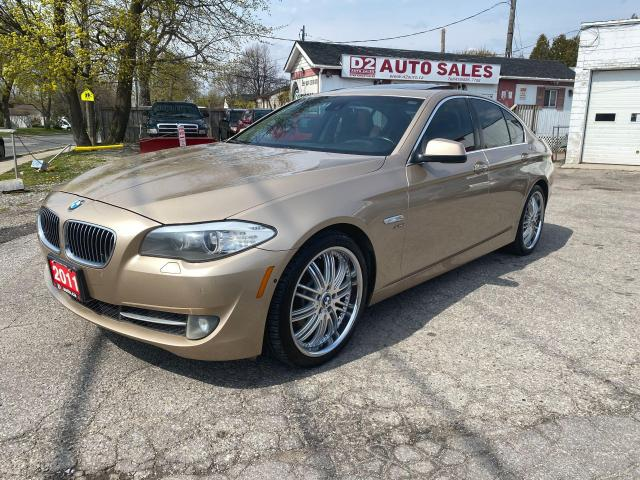 2011 BMW 5 Series 535Xi/Leather/Roof/Navi/Rev Cam/Comes Certified