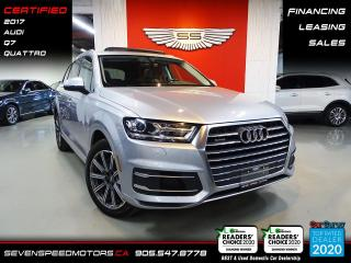Used 2017 Audi Q7 PROGRESSIVE | CARFAX CLEAN | CERTIFIED | FINANCE | 9055478778 for sale in Oakville, ON