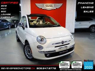 Used 2012 Fiat 500 CLEAN CARFAX | CERTIFIED | FINANCE | 9055478778 for sale in Oakville, ON