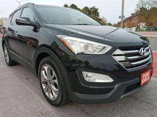 Used 2016 Hyundai Santa Fe Sport LIMITED-LEATHER-PANORAMA ROOF-NAVI-BK UP CAM-ALLOY for sale in Scarborough, ON