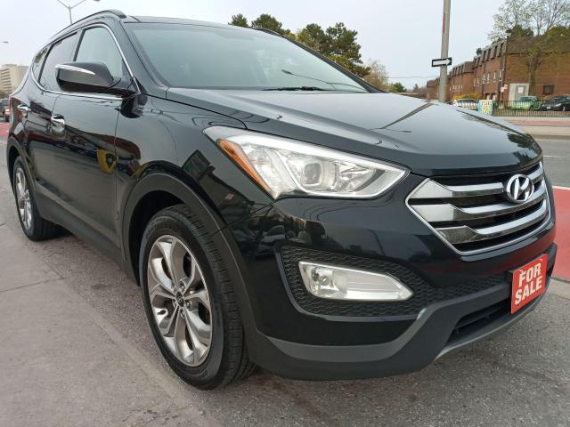 2016 Hyundai Santa Fe Sport LIMITED-LEATHER-PANORAMA ROOF-NAVI-BK UP CAM-ALLOY