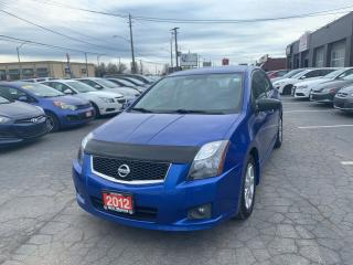 Used 2012 Nissan Sentra SR for sale in Hamilton, ON