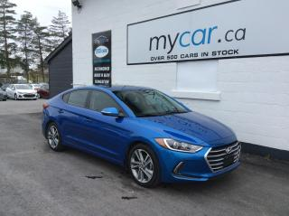 Used 2017 Hyundai Elantra GLS SUNROOF, ALLOYS, HEATED SEATS, BACKUP CAM!! for sale in Richmond, ON