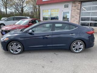 Used 2017 Hyundai Elantra Limited for sale in Morrisburg, ON