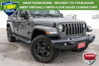 Used 2021 Jeep Wrangler Unlimited Sahara ONE OWNER!!! TOWING PACKAGE!! for sale in Barrie, ON