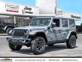 New 2021 Jeep Wrangler 4xe UNLIMITED RUBICON 4X-E | DUAL TOP for sale in Simcoe, ON