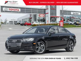 Used 2017 Audi A4 quattro for sale in Toronto, ON