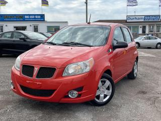 Used 2009 Pontiac G3 Wave SE for sale in Whitby, ON