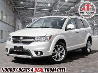 Used 2017 Dodge Journey GT All Wheel Drive*7 Seats*DVD*Sunroof*NAV*Camera for sale in Mississauga, ON