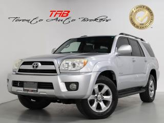 Used 2007 Toyota 4Runner V6 I LIMITED I SUNROOF I JBL I CLEAN CARFAX for sale in Vaughan, ON