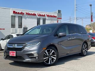 Used 2019 Honda Odyssey Touring -  Navi - Leather - Sunroof - DVD for sale in Mississauga, ON