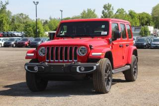 New 2021 Jeep Wrangler Unlimited 4xe Sahara for sale in Mississauga, ON