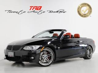 Used 2013 BMW 3 Series 335is CONVERTIBLE I M-SPORT I NAVI I RED LEATHER for sale in Vaughan, ON