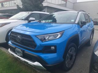 New 2021 Toyota RAV4 TRAIL for sale in North Vancouver, BC