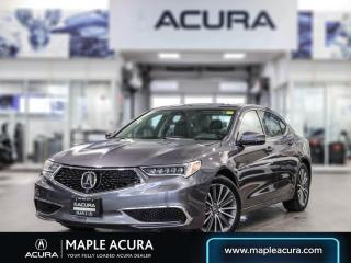 Used 2019 Acura TLX Tech, one owner, acura certified for sale in Maple, ON