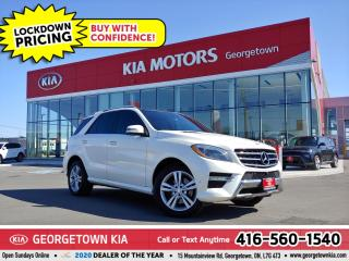 Used 2015 Mercedes-Benz ML-Class ML 350 BlueTEC | NAV | PANO ROOF | BU CAM | B/T | for sale in Georgetown, ON