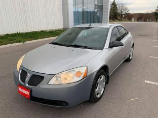 Used 2008 Pontiac G6 4dr Sdn for sale in Mississauga, ON